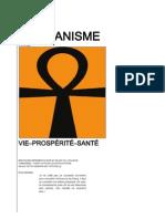 Brochure d'information sur le Maâtianisme