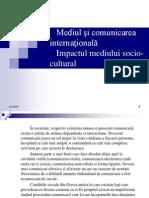 Mediul şi comunicarea internaţională