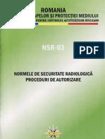Norme de Securitate Radio Logic A in Radio Diagnostic