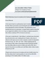 Tawakkol Karman's Women Journalists Without Chains 2nd Media Monitoring Report on Corruption in Yemen 2008