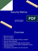 Security Metrics