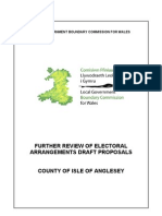 Isle of Anglesey Further Draft Proposals e