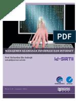 Manajemen Keamanan Informasi dan Internet