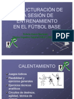 Estruct Sesion Futbol Base