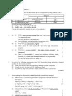 1999 Paper 1