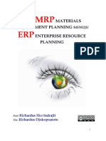 Dari MRP Material Requirement Planning Menuju ERP Enterprise Resource Planning