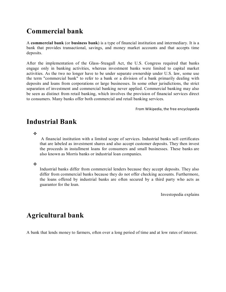 Eco 102 term paper banks central banks xflitez Gallery