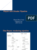 Reyes and Shader Pipeline