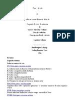 Zend Avesta 02. Galego. Gustav Theodor Fechner.