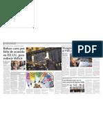 Bolsas Caen Por Falta de Acuerdo en EE.uu. Para Reducir Deficit