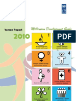 Yemen Millenium Goals Assessment 2010