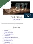 Quick C++ Tutorial