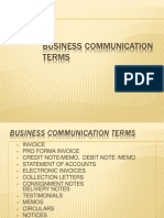 PGDBM Business Communication Terms[1]