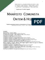 Manifesto Comunista Ontem & Hoje (Org. Osvaldo Coggiola)