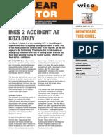 Bulgaria VVER Accident Report 2006