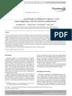 Improving Gait Performance in Parkinson's Disease
