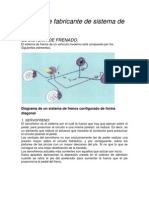 Manual de Fabric Ante de Sistema de Frenos