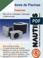 Manual Aquecedor Serie Premium