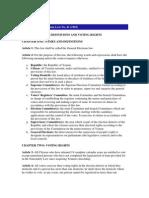 General Elections Law No. 41 (1992)