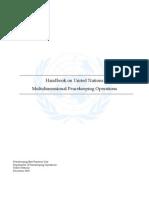 Handbook on UN PKOs