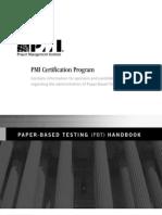 PBT Handbook