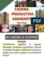 Cadena Productiva Cereales Menores Amaranto Sobre La Roca