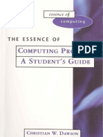 Dawson-The Essence of Computing Projects