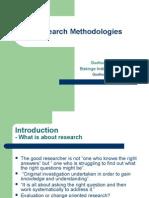 Research Methodologies