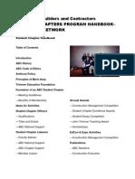 ABC Student Chapter Handbook 2011