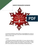 Regulamento Natal Inesquecivel Centro Eletrico