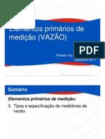 03_00 Mecanismos de Medição de Vazão