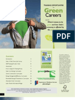Training Opportunities for Green Careers