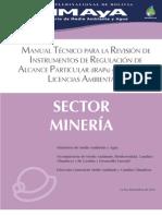 Manual Tecnico Sector Mineria