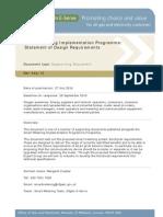 225 Smart Metering Imp Programme Design