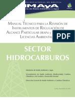 Manual Tecnico Sector Hidrocarburos