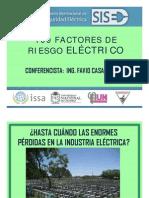 16. ING. FAVIO CASAS - 100 FACTORES DE RIESGO ELÉCTRICO
