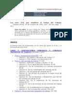 Código Laboral -  Ley Nº.213-1.996.