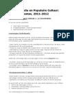 NMPC-CG Opdrachten 2011-2012 v2