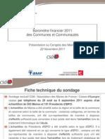 Barometre financier AMF-Caisse d'Epargne