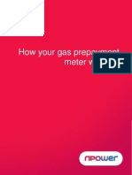 npower Gas Prepayment Guide