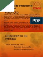 PSOL- Partido Socialismo e Liberdade