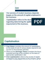 Financial Management Capitalization P-2