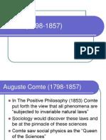Comte (1798-1857)