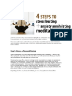 4 Step Zen Meditate Guide