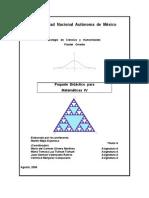 Paquete Didáctico de Matemáticas IV