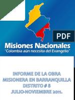 Informe Misiones noviembre 2011 a