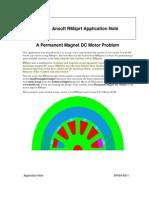 A Permanent Magnet DC Motor Problem