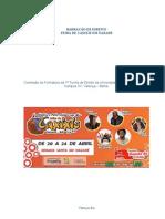 Projeto Feira de Caxixis RUBIA