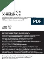 Pioneer X-HM10-K Manual En