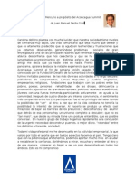 Carta a El Mercurio de Juan Manuel Santa Cruz